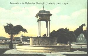 Reservatorio da Hydraulica Municipal (Chafariz)